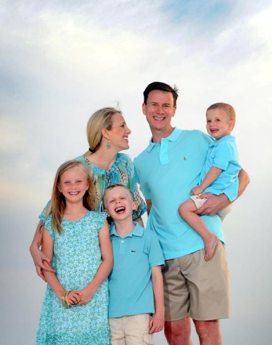 Panama City Beach Sunset Family Photo Session