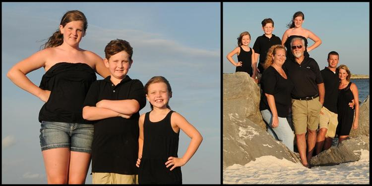 Panama City photographer family beach pictures