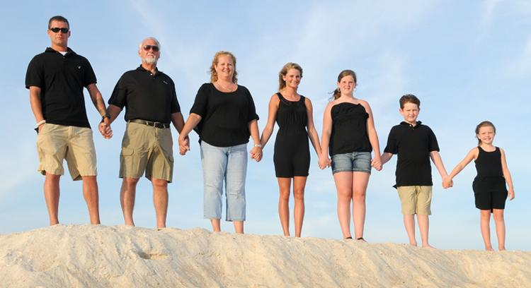 Panama City Beach Sunset Family Photography Session